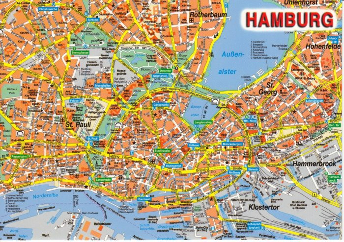 Hamburg-map